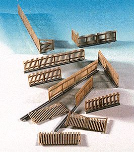 Kibri Kit 38649 NEW HO CONSTRUCTION FENCING