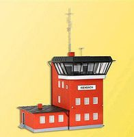 Kibri Kienbach Signal Tower HO Scale Model Railroad Building Kit #39332