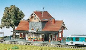 Kibri Station building HO-Scale
