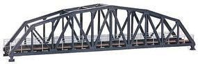Kibri Steel Elbow Bridge w/o Bridgeheads (Single Track) HO Scale Model Railroad Accessory #39700