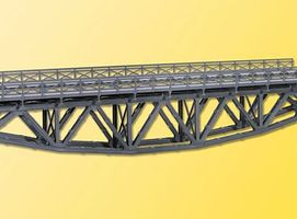 Kibri Cross girder Bridge w/o Bridgeheads (Single Track) HO Scale Model Railroad Bridge #39703