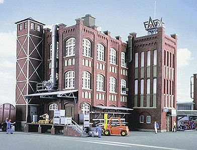Grunderzeit factory ho scale model railroad building kit for Grunderzeit mobel
