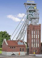 Kibri Mine Head Tower w/Drive - HO-Scale