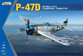 Kinetic-Model P-47D THUNDERBOLT BUBBLETOP-24