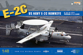 Kinetic-Model E2C Hawkeye USN/FAF Plastic Model Airplane Kit 1/48 Scale #48013