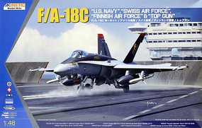 Kinetic-Model F/A-18C US Navy, Swiss AF 1-48