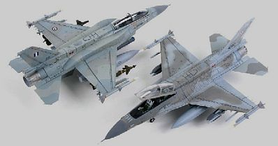 Kinetic-Model F16D Block 52+ Advanced Viper Polish AF Aircraft Plastic Model Airplane Kit 1/72 #72002
