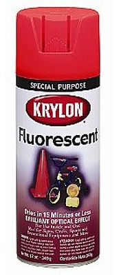 Krylon Products 11oz. Acrylic Spray - Fluorescent Red