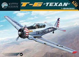 KittyHawk T6G Texan Aircraft Plastic Model Airplane Kit 1/32 Scale #32001