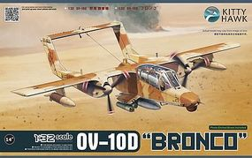 KittyHawk OV10D Bronco Turboprop Light Attack Aircraft Plastic Model Airplane Kit 1/32 Scale #32003