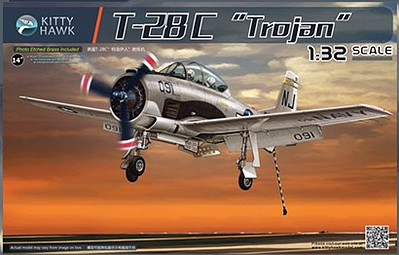 Kitty Hawk Models T-28C TROJAN 1-32