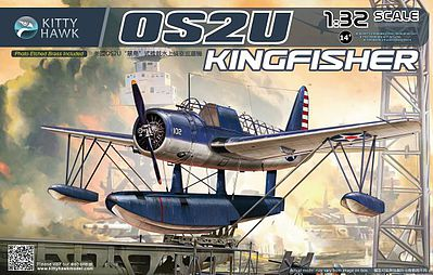KittyHawk OS2U Kingfisher Plastic Model Airplane Kit 1/32 Scale #32016