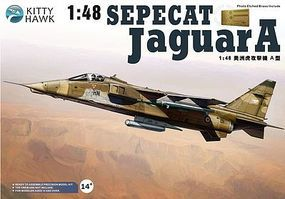 KittyHawk Sepecat Jaguar A Aircraft Plastic Model Airplane Kit 1/48 Scale #80104