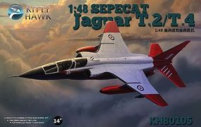 KittyHawk Sepecat Jaguar E & T2/T4 Aircraft Plastic Model Airplane Kit 1/48 Scale #80105