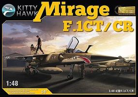 KittyHawk Mirage F1 CT/CR Fighter Plastic Model Airplane Kit 1/48 Scale #80111