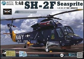 KittyHawk SH2D Seasprite Helicopter Plastic Model Helicopter Kit 1/48 Scale #80122