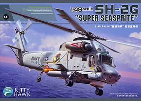 KittyHawk 1/48 SH2G Super Seasprite USN Helicopter