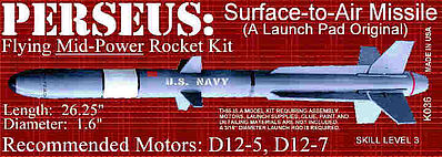 Launch Pad Rocket Kits PERSEUS Skill 3
