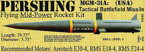 Launch-Pad PERSHING MGM-31A Skill 3