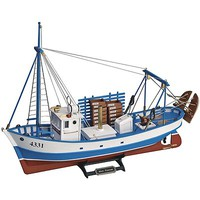 Latina 1/35 Mare Nostrum Wooden Fishing Trawler Kit