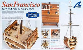 Latina Ship Models 1/50 San Fransisco II Cross Section