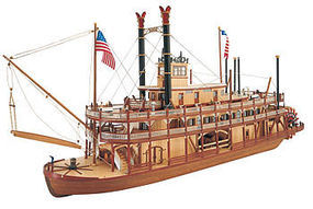 Latina 1/80 Mississippi Paddle Wheel Steam Boat Kit