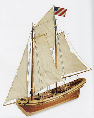 Latina Ship Models 1/50 Swift Easy Build Sewn Sails