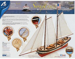 Latina 1/50 Swift Easy Build Wood Pilot Boat Kit