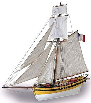 Latina Ship Models 1/50 Le Renard/The Fox