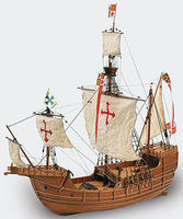 1/65 Carabela Santa Maria Wooden Model Ship Kit