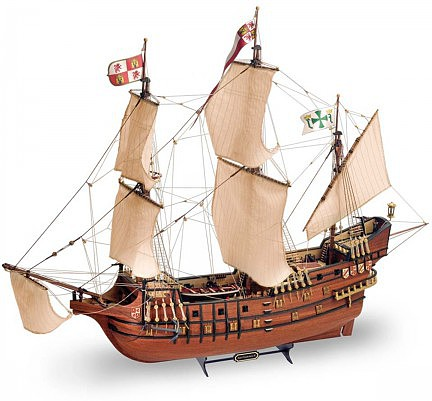 Latina 1/90 San Francisco II Wooden Model Ship Kit