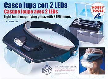 Latina Ship Models Hands Free Magnifier Glasses w/2 LED Lights