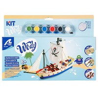Latina The Pirate Ship Wooden Model Kit