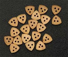 Latina Triangular Dead Eye 5mm (8) Wooden Boat Model Accessory #8529