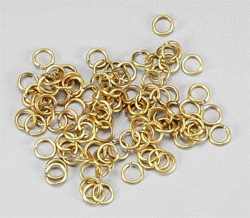 Latina Ship Models Brass Rings 4mm (100)
