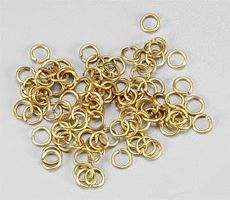 Latina Brass Rings 4mm (100)