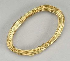 Latina Brass Wire .5mm 5 Meter