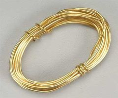 Latina Brass Wire 1mm 3 Meter