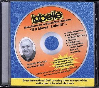 Labelle Industries DVD (45 Minutes) -- How To Lube Your Model Trains, R/C Models, Mechanical Toys and Collectables