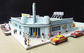 lds Snailways Bus Depot Kit N-Scale