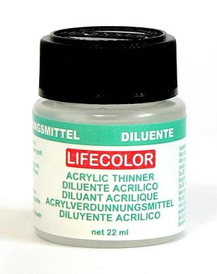 Lifecolor Acrylic Thinner (22ml Bottle) (Old #120)
