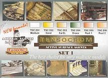 Lifecolor Tensocrom Weathering #1 Acrylic Paint (6 22ml Bottles) Hobby and Model Paint Set #tsc1