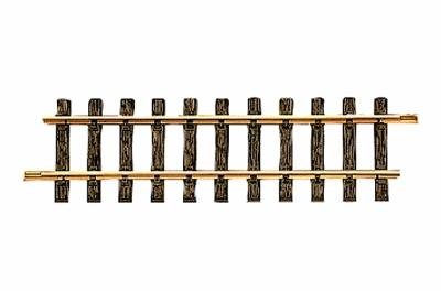 LGB (bulk of 12) Straight Track (Bulk of 12) 11-3/4'' -- G Scale Brass Model Train Track -- #10000