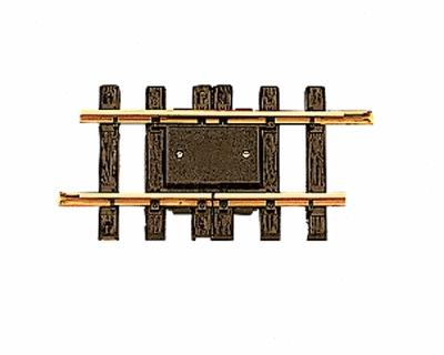 LGB Single Rail Insulated Track Section 5.90'' -- G Scale Brass Model Train -- #10153