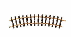 LGB (bulk of 12) R2 Curved Track 30 Degree 55 Diameter (Bulk of 12) G Scale Brass Model Train Track #15000