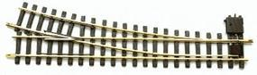 LGB R5 Right Manual Turnout G Scale Brass Model Train Track #18050
