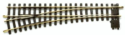 LGB R5 Left Manual Turnout G Scale Brass Model Train Track #18150