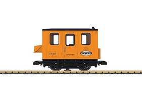 LGB Gang Car Undec w/Stickers - G-Scale