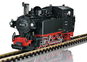 LGB Dgtl DR Vlk Steam Locomotive Road Number 99 685 Era III Special Model for the 50th Anniversary of LGB G-Scale
