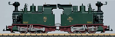 LGB Saxon Cl II K Steam Loco - G-Scale
